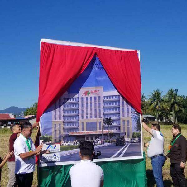 Groundbreaking Ceremony of Mt. Samat Medical Center