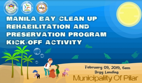 Manila Bay Clean Up (Kick Off Activity)