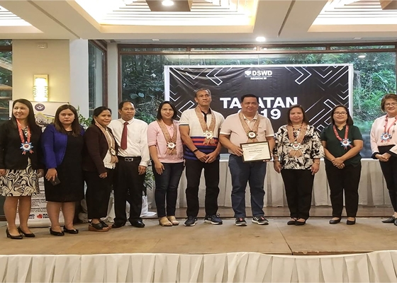 GAPAS AWARDEE- TAPATAN 2019 with LGUs
