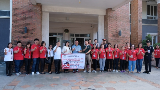 1st CPR Ready Municipality in the Philippines