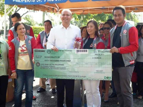 It's Another Red Orchid for the Municipality of Pilar