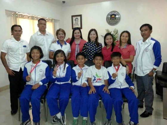 Municipality of Pilar's Students Bagged Gold Medals at CLRAA 2016