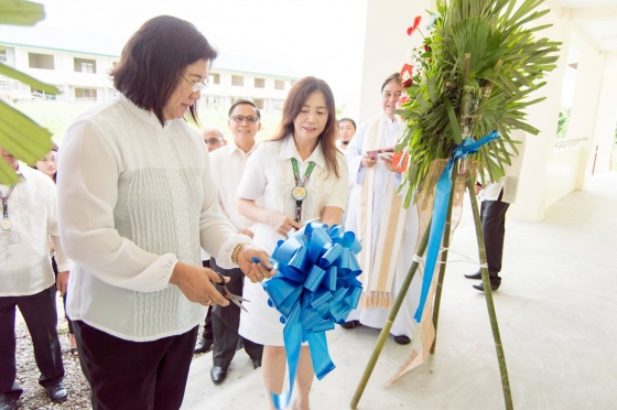 Blessing of the new MDRRM Office and Evacuation Center